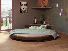 Круглая деревянная кровать Vita Mia Neron (Нерон)