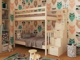 Двухъярусная кровать из массива дерева Vita Mia Artek Lux (Артек Люкс)