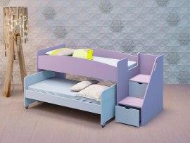 Выкатная кровать из массива дерева PinoLetto Barny ( Барни )
