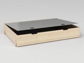Ящик для белья с крышкой