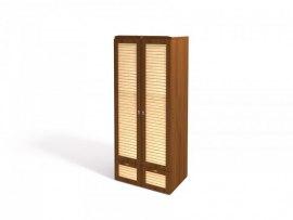 Шкаф для одежды Интеди ИД 01.135 Робинзон ( Ноче гванери + штрих лак )