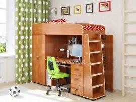 Кровать чердак Легенда 1 ( для детей и взрослых )