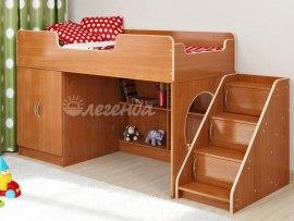Кровать чердак Легенда 2.4 ( для детей )