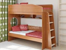Кровать детская двухъярусная Легенда 10.1 ( с боковой лестницей )