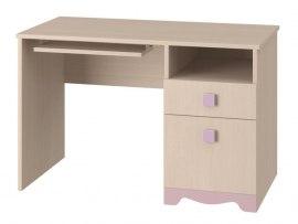 Стол письменный Интеди ИД 01.91а Pink