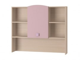 Полка для книг Интеди ИД 01.191 Pink