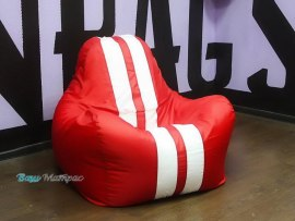 Кресло Мешок Спорт Красное