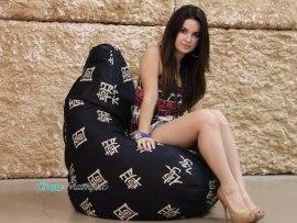 Кресло мешок Черный дракон