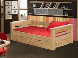 Кровать софа детская из массива дерева Vita Mia Шатл (точеное дерево)