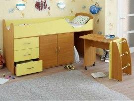 Кровать чердак Карлсон Микро 304 ( со столом-лестницей )
