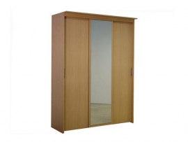 3-х дверный шкаф-купе Орматек с 1 зеркальной дверью