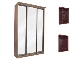 Шкаф-купе Орматек Элит 3х дверный с 3 зеркальными дверями
