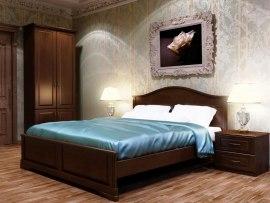 Кровать DreamLine Эдем 1 ( массив бука или ясеня )