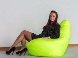 Кресло мешок Оксфорд Лайм