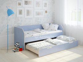 Кровать детская выдвижная Легенда 13.2 ( с дополнительным спальным местом )