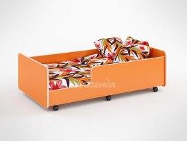 Кровать детская выдвижная Легенда 24 ( на колесиках )