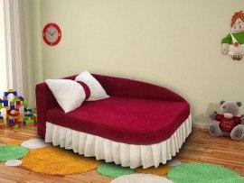 Детский раскладной диван - кушетка М-Стиль Аленка