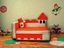 Детский раскладной диван - кушетка М-Стиль Замок