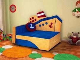 Детский раскладной диван М-Стиль Пароходик