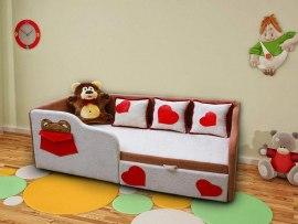 Детский диван - кровать М-Стиль Тед