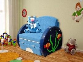 Детский раскладной диван М-Стиль Царапыч