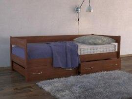 Кровать-тахта с ящиками DreamLine ( массив бука или ясеня )