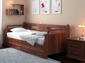 Кровать-тахта 2 DreamLine ( массив бука или ясеня )