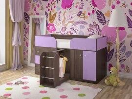 Кровать чердак Ярофф Малыш 4