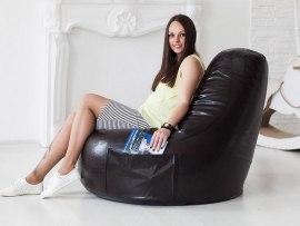 Кресло мешок Comfort Coffee ( экокожа )