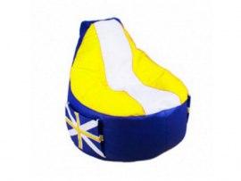 Кресло мешок Comfort Britain Yellow ( экокожа )