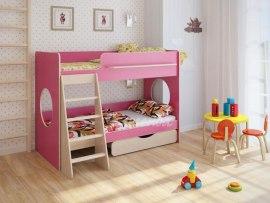 Кровать детская двухъярусная Легенда 25.2 с ящиком