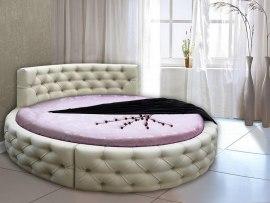 Кровать круглая Vita Mia Астория с матрасом
