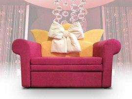 Детский диван - кровать Малина Принцесса