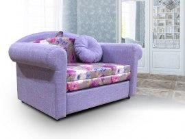Детский диван-кровать для девочек Малина Прованс ( Шарм Виолет )