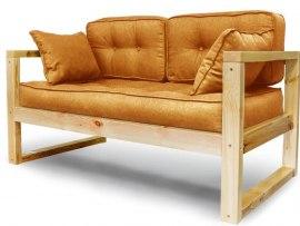 Диван кровать лофт из массива дерева Vita Mia Vento ( Венто )