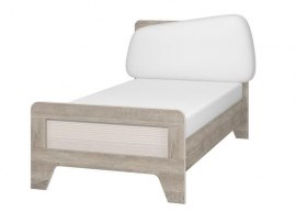 Кровать Интеди детская ИД 01.265 Тайм с мягким элементом