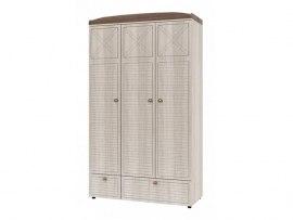 3-х дверный шкаф Интеди ИД 01.386 Калипсо