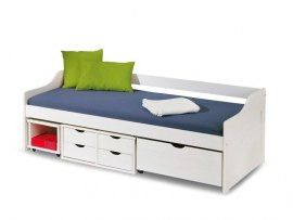 Детская кровать-софа из массива дерева Vita Mia Flora ( Флора )