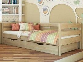 Кровать софа из массива дерева Vita Mia Кадет (с 3-мя бортиками)