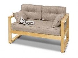 Диван кровать лофт деревянная Vita Mia Vento (Венто)