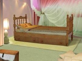 Кровать детская из массива дерева Vita Mia Шрек