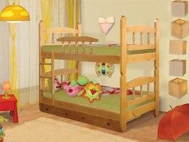 Кровать детская двухъярусная из массива дерева Vita Mia Шрек 3