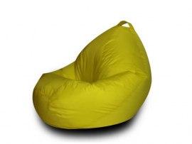 Детское кресло мешок желтое