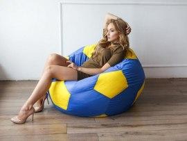 Кресло мешок мяч Dream футбольный ( оксфорд )