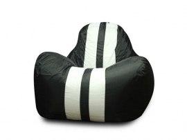 Кресло мешок Dream Спорт черное ( оксфорд )