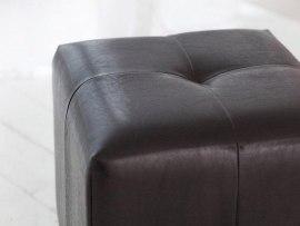 Пуфик DB Николь коричневый ( экокожа )