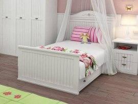 Кровать Интеди детская с ящиками ИД 01.530 + 01.530а Николь