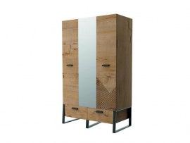 Шкаф 3-х дверный Интеди ИД 01.368а Оскар ( с зеркалом )