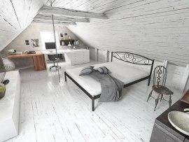 Кровать металлическая СтиллМет Мемори