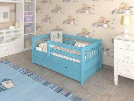 Кровать детская из массива дерева Vita Mia Krosh ( Крош )